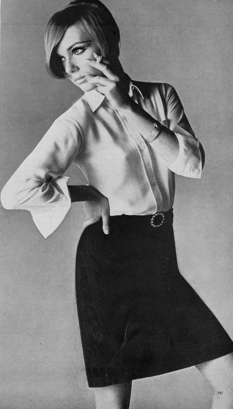 Shirt and skirt by Mary Quant