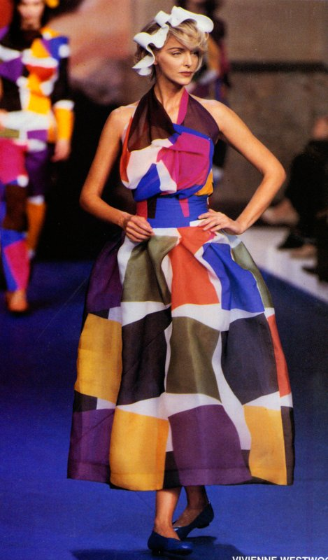 Dress from Vivienne Westwood Spring 1999 collection