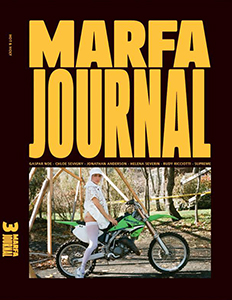 Cover of Marfa Journal