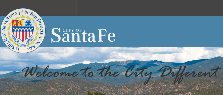 official seal of the city of santa fe new mexico