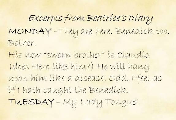 Excerpts from Beatrice's Diary by E. Lowe