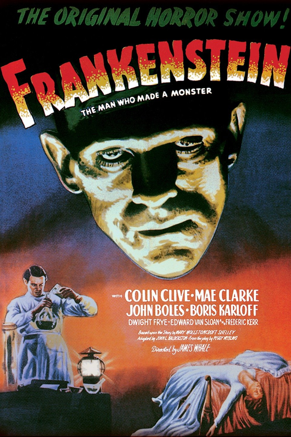 Frankenstein movie poster 1931