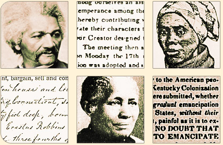 Black Abolitionists and excerpts of abolitionist papers