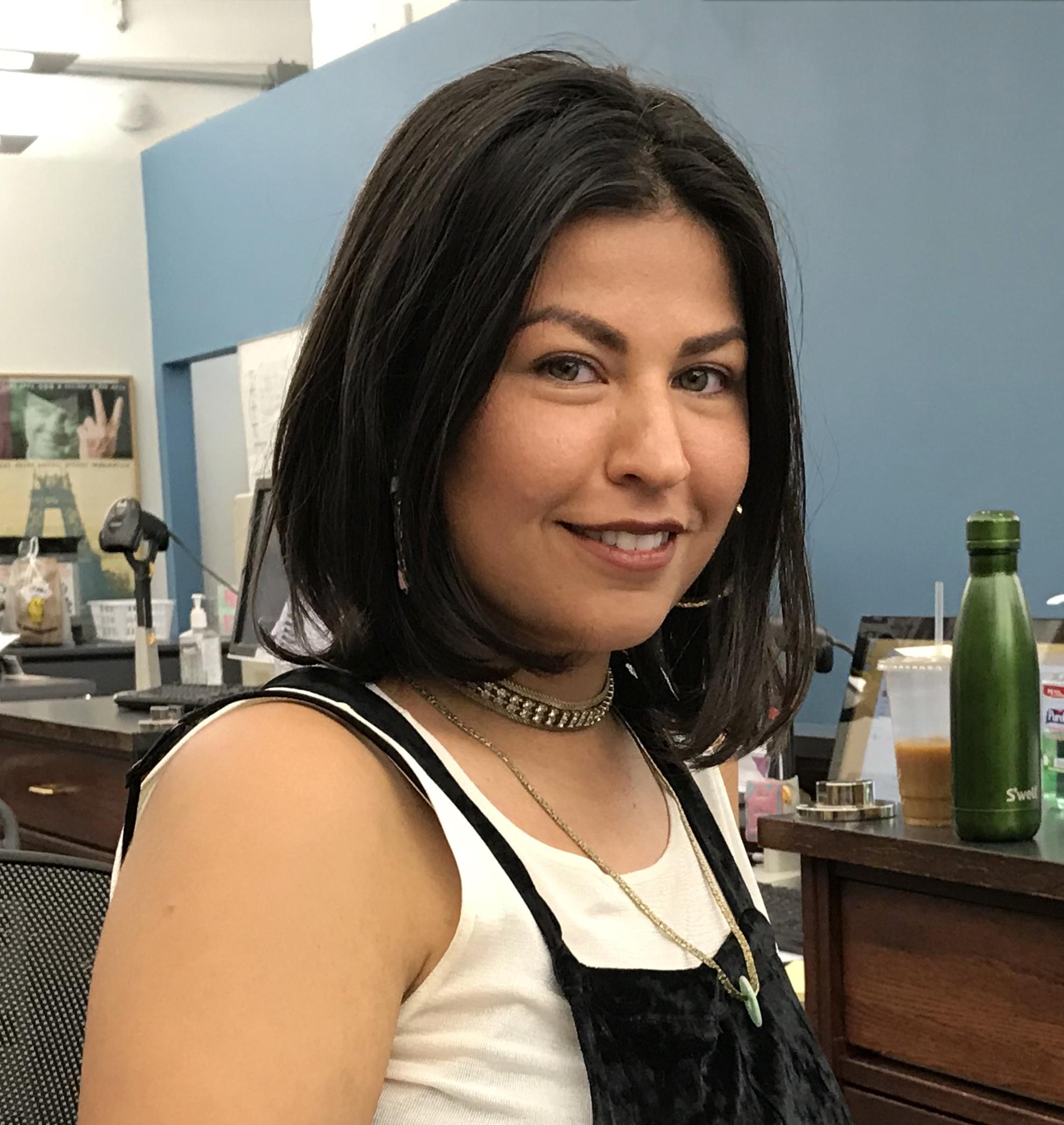 A photo of Barbara Calderón