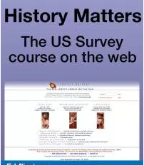 thumbnail image of History Matters website