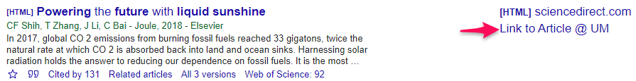 Link to Article in Google Scholar