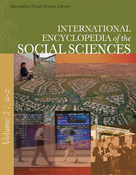 Cover of the International Encyclopedia of the Social Sciences