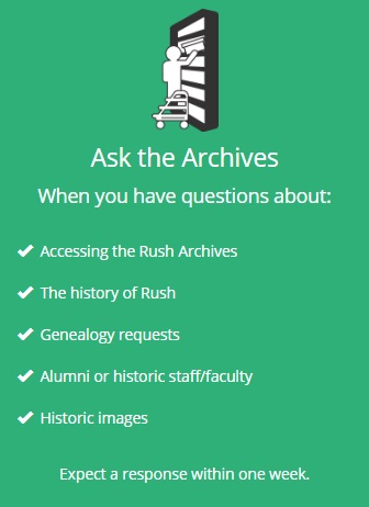 Ask the Archives button
