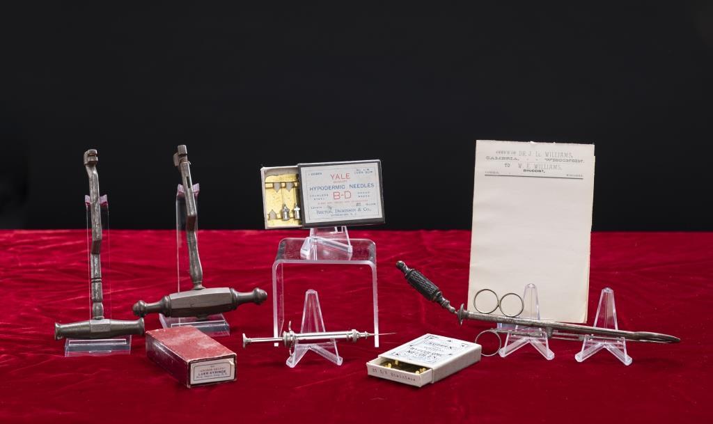 Instruments of John Ll. Williams, MD