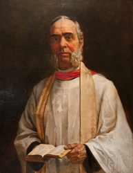 Rev. Clinton Locke, founder of St. Luke's Hospital