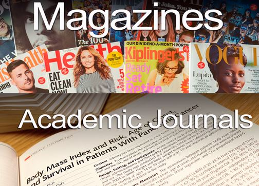 Magazines and journals presentation