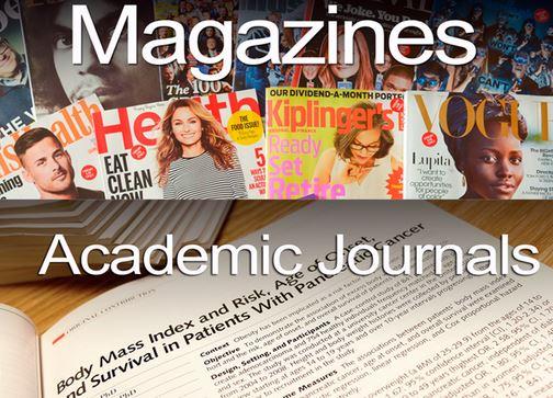 Magazines and journals presentation