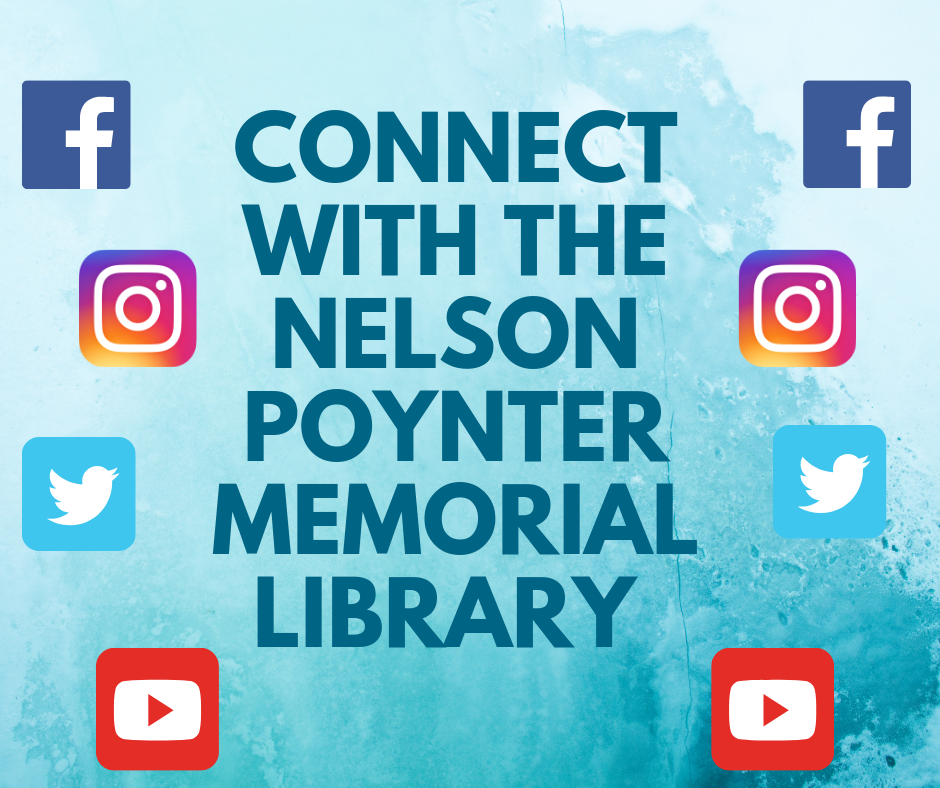 connect to library social media