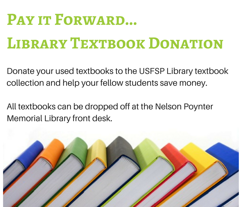textbook donations