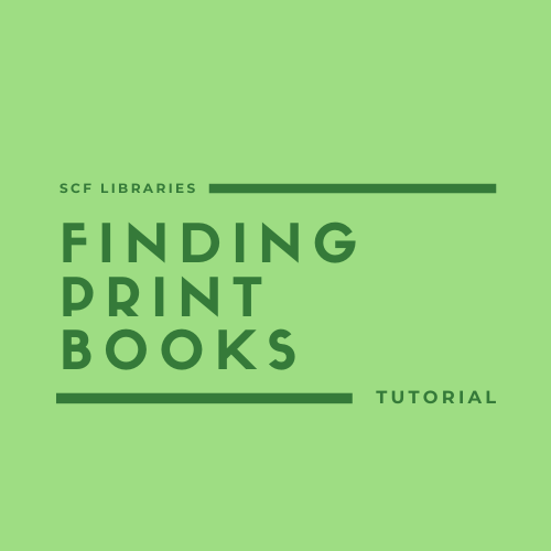 Finding print books