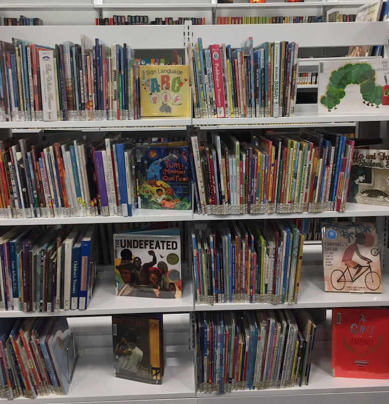 Picture books at SCF Library