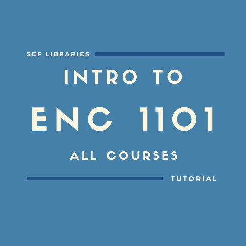 Intro to ENC1101 all courses