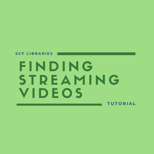 Finding streaming videos