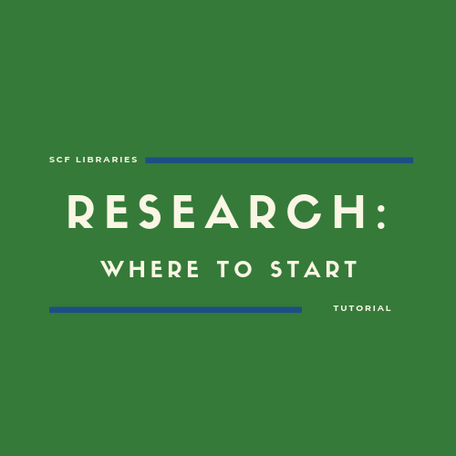 Research: Where to start