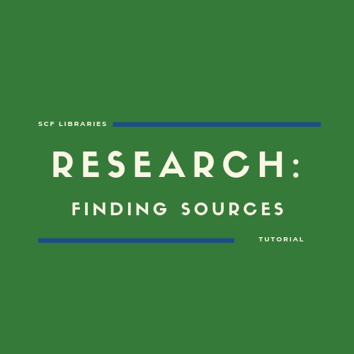 Research: Finding Sources