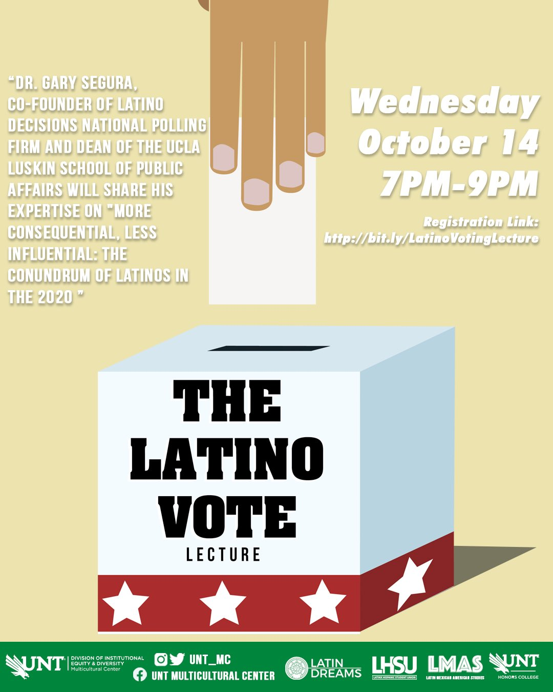 The Latin Vote MC event