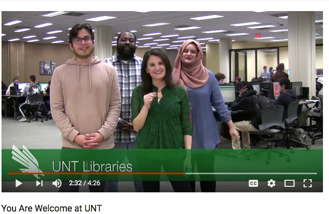 library staff welcome video image