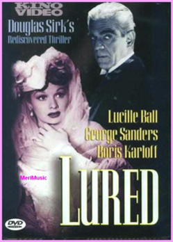 lured dvd cover