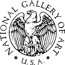 logo of the national gallery of art featuring an eagle