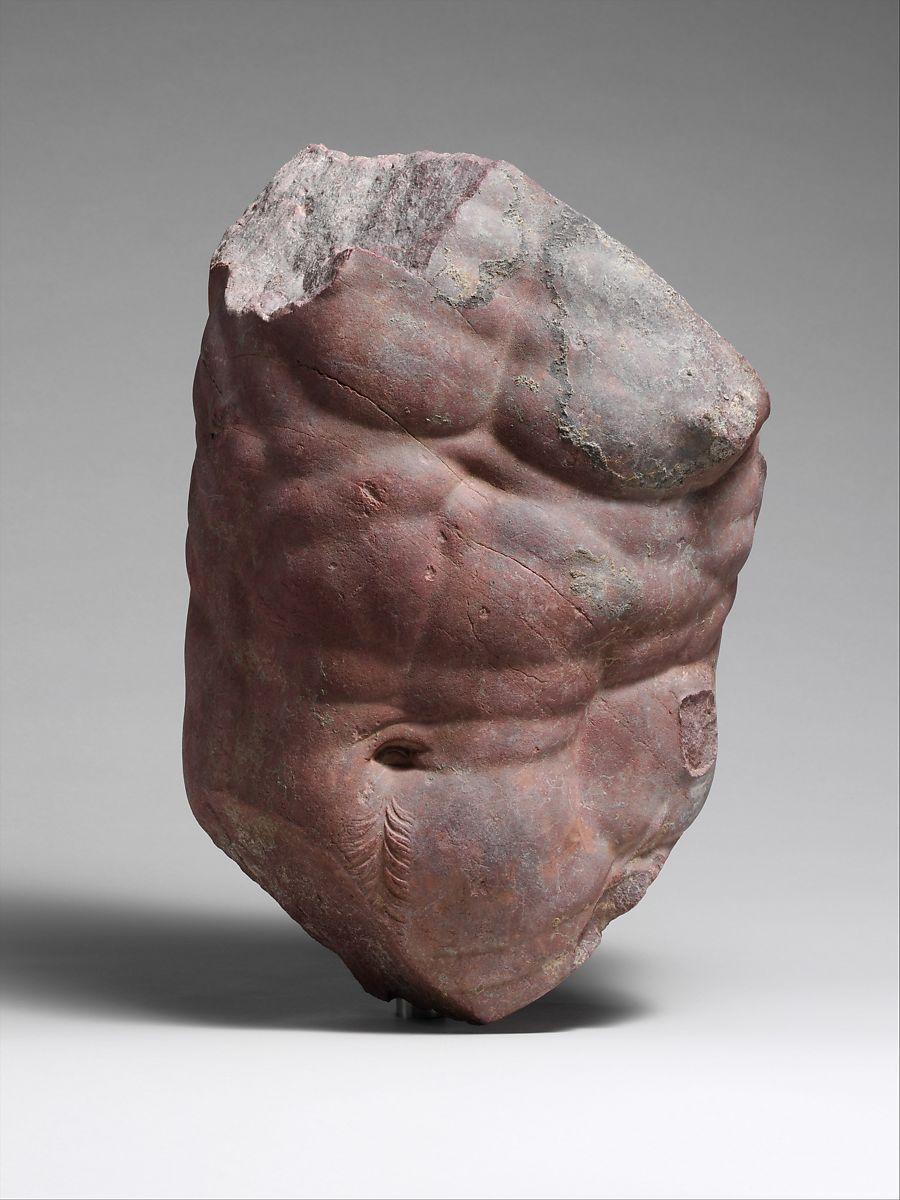 Rosso antico torso of a centaur 1st –2nd century A.D.
