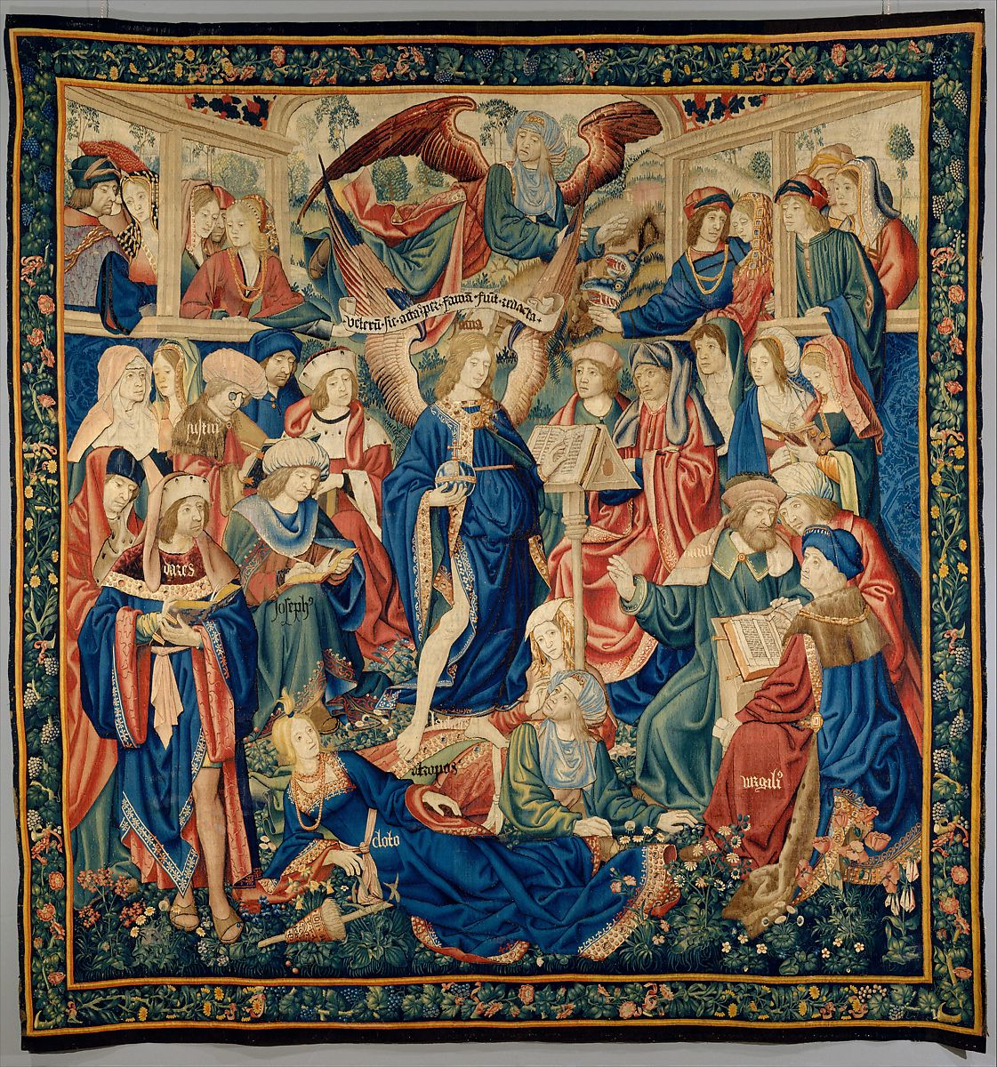 tapestry: The Triumph of Fame ca. 1502–4
