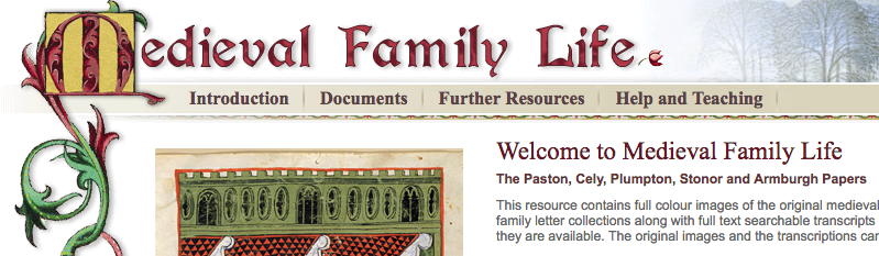Medieval family life screenshot