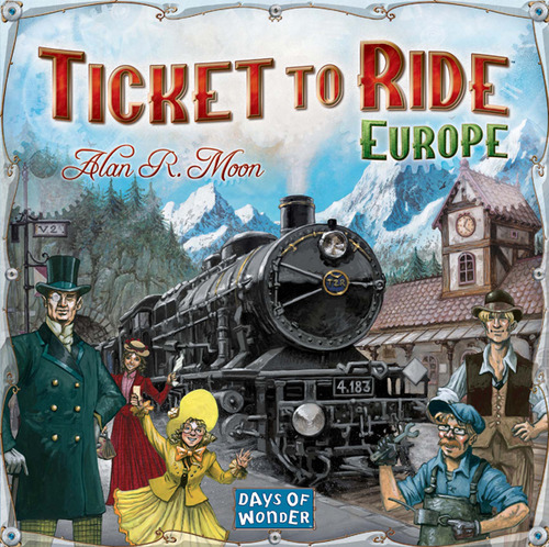 ticket to ride europe box cover art