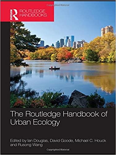 Routledge Handbook of Urban Ecology