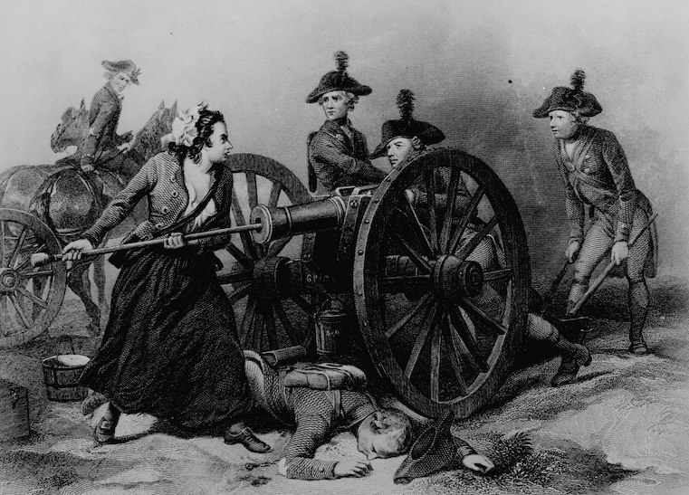 Molly Pitcher, National Archives