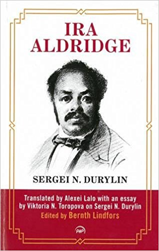 Cover of the book Ira Aldridge by Sergei N. Durylin.