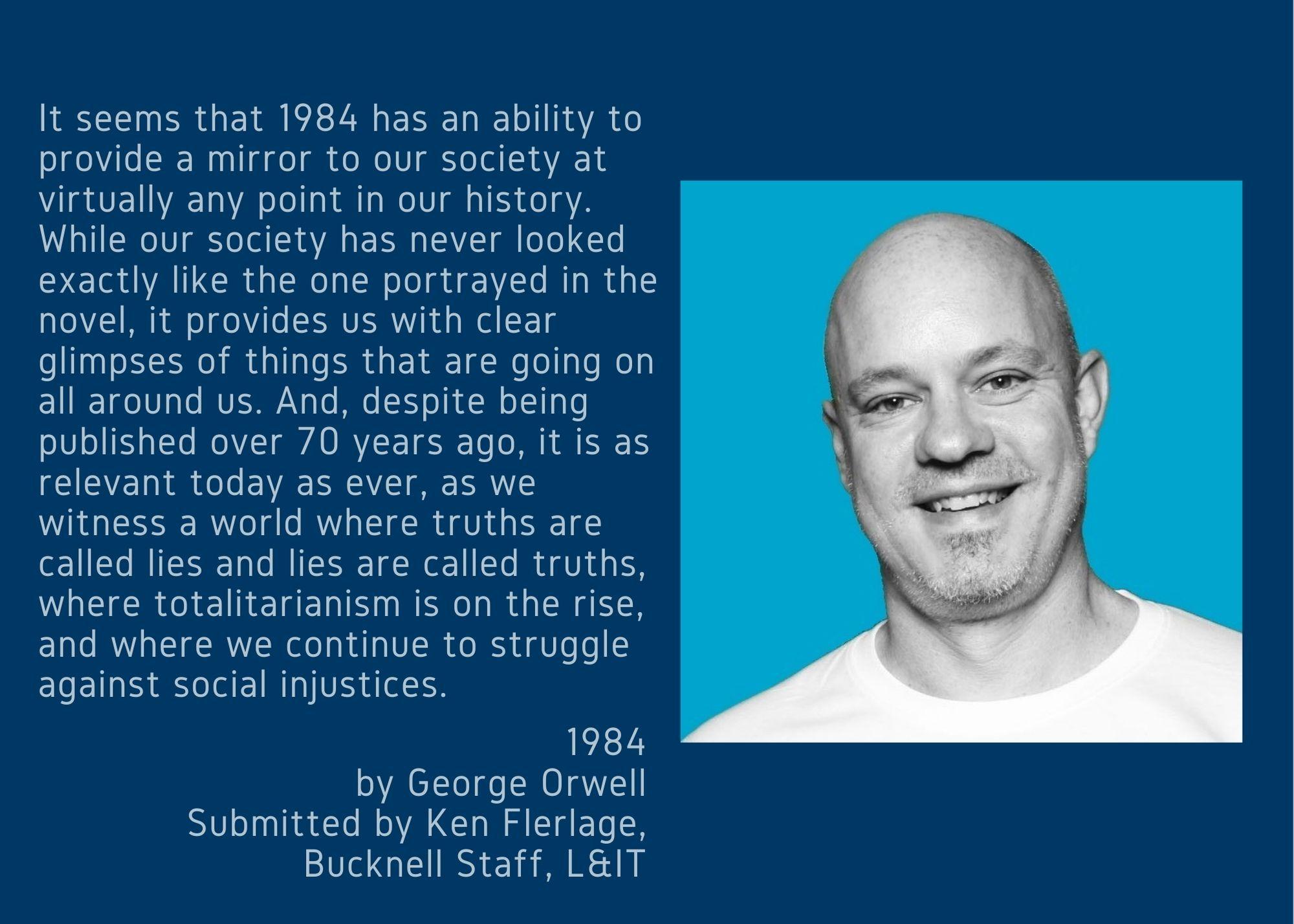 Ken Flerlage and 1984