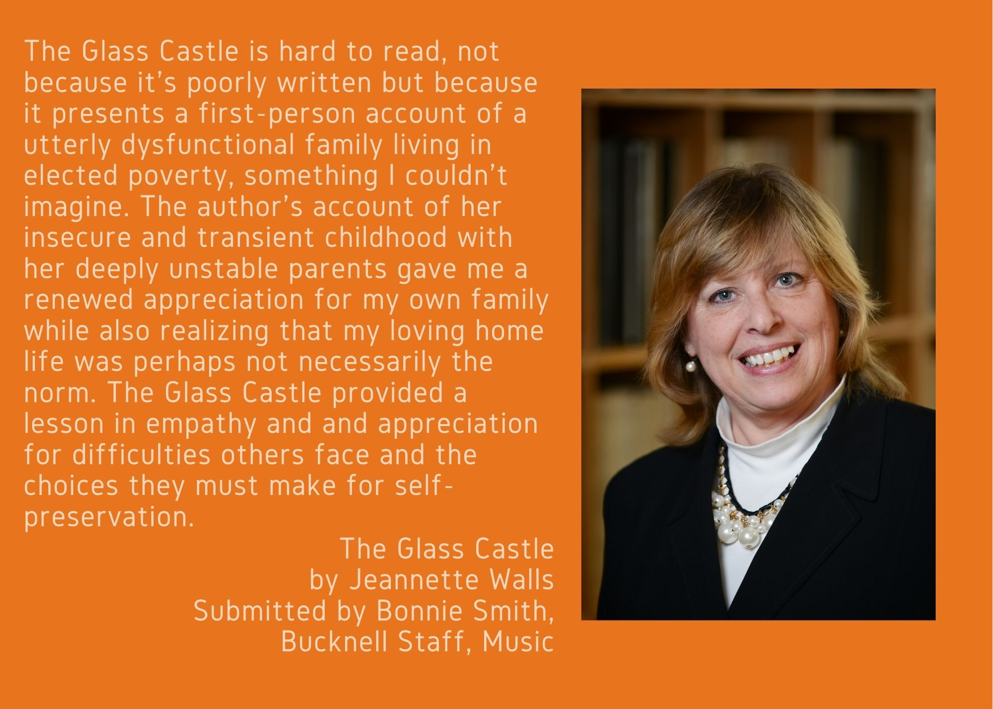 Bonnie Smith and The Glass Castle