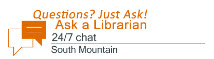 Ask a Librarian (SMC) 24/7 chat icon