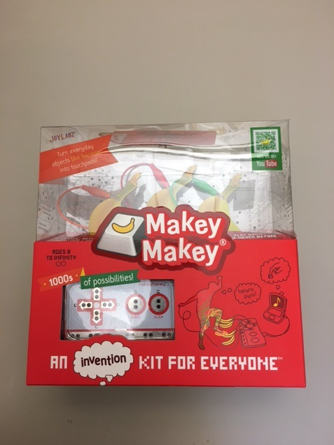 Picture of a MakeyMakey kit