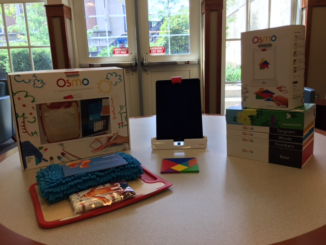 Picture of an Osmo device & learning modules