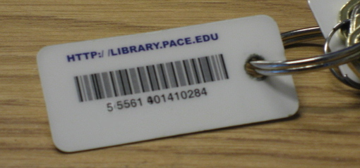 Pace library barcode