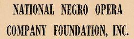 National Negro Opera Company Foundation, Inc.