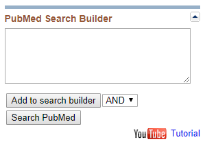 MeSH Search Builder