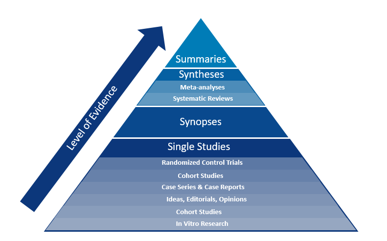 Granular Pyramid Single Studies vs. Summaries