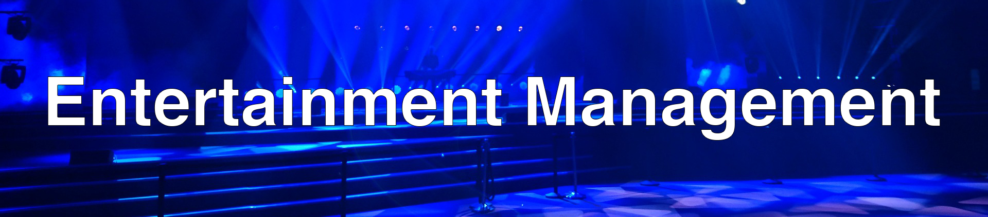 Entertainment Management Banner