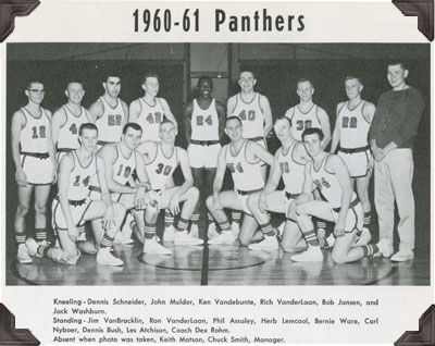 1960-61 Panthers Basketball Team