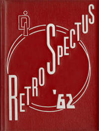 1962 Retrospectus Yearbook Cover