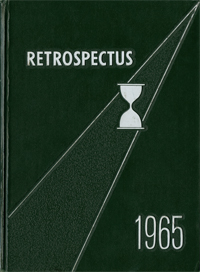 1965 Retrospectus Yearbook Cover