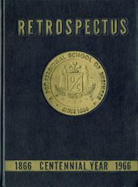 1966 Retrospectus Yearbook Cover