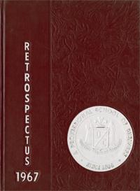 1967 Retrospectus Yearbook Cover